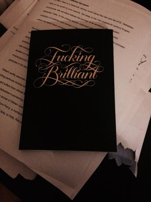 A fucking brilliant notebook