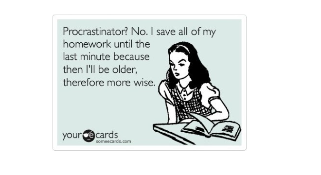 Procratination